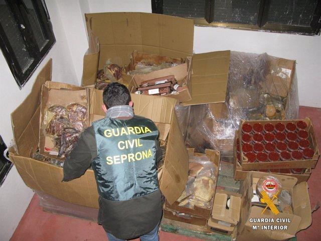 Salamanca.- Inspección Guardia Civil