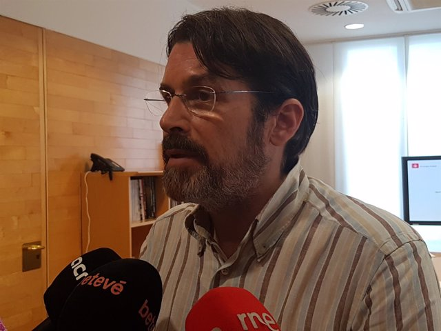 El comisionado de Ecología de Barcelona, Frederic Ximeno