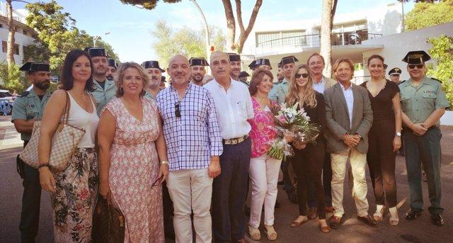 Actua Baleares con familia Salva Lezaun