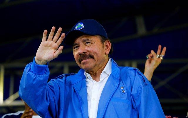El presidente de Nicaragua, Daniel Ortega