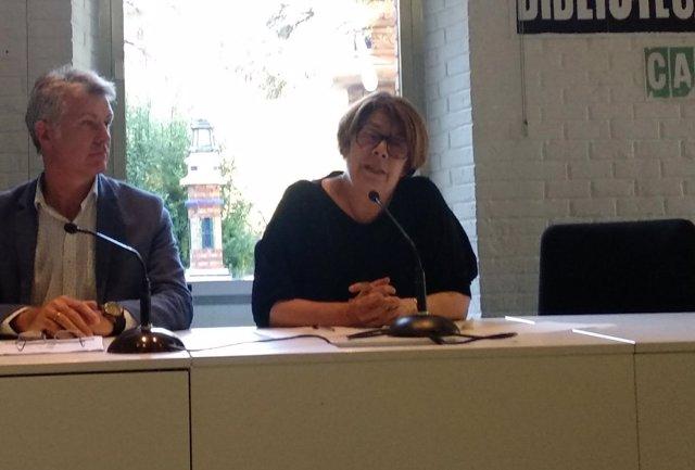 La delegada de Medio Ambiente, Inés Sabanés, presenta  'Vivir los parques'