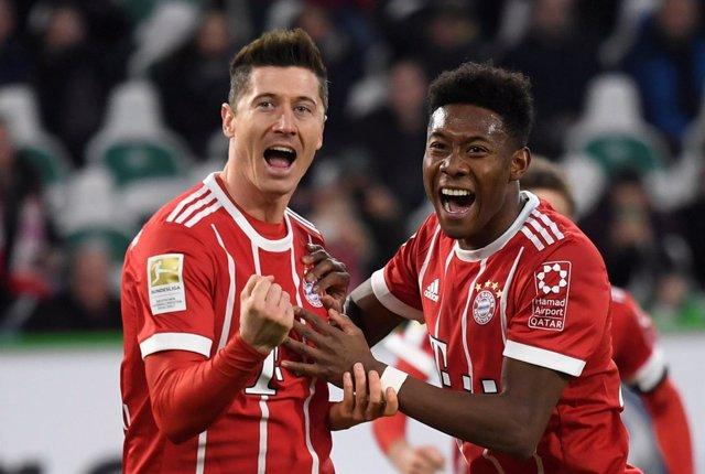 Lewandowski y Alaba (Bayern Múnich)