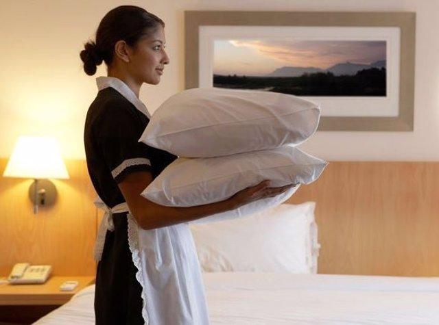 Camarera de hotel