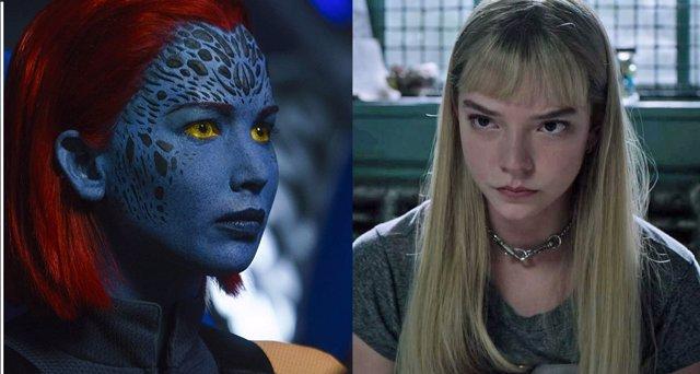 X-Men: Dark Phoenix y Los nuevos mutantes