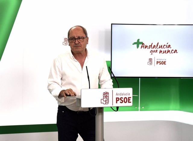 Secretario de Organización del PSOE-A, Juan Cornejo.