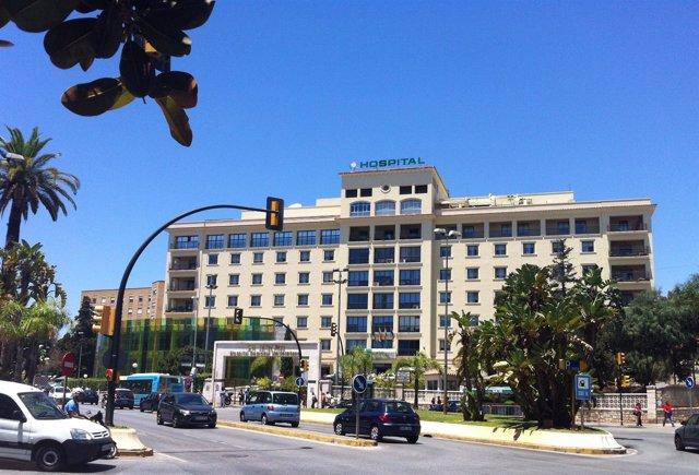 Resultado de imagen de hospital regional malaga