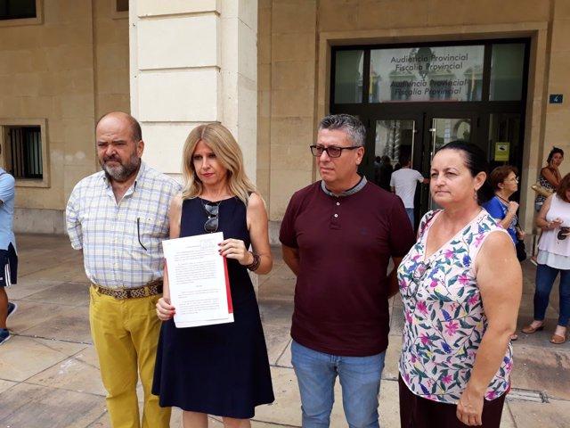 Montesinos sostiene la denuncia presentada ante fiscalía