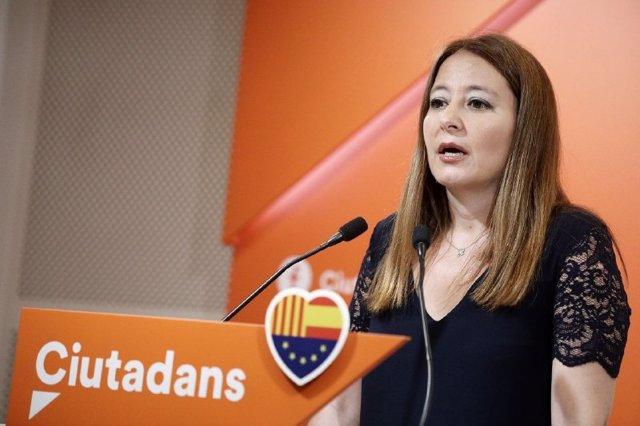 La diputada de Cs en el Parlament Sonia Sierra