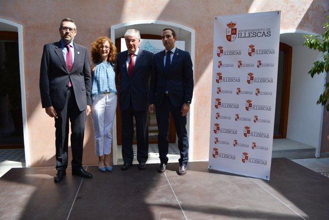 Diputación Toledo (Nota De Prensa, Cortes De Voz Y Fotografías) Lux Caridad Ille