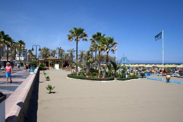 Paseo y playa de Torremolinos