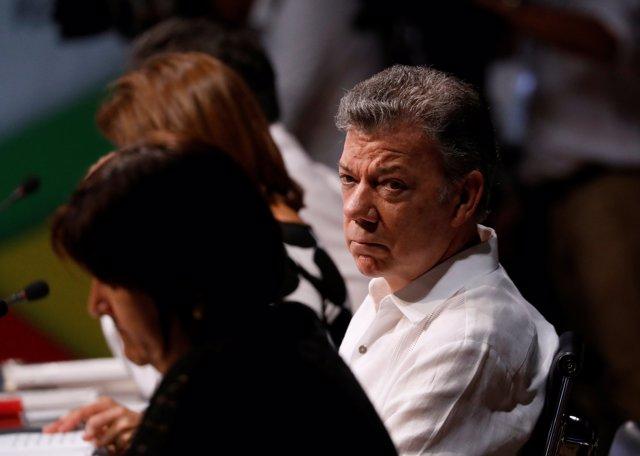 Santos promete abandonar la vida política y no molestar a su sucesor