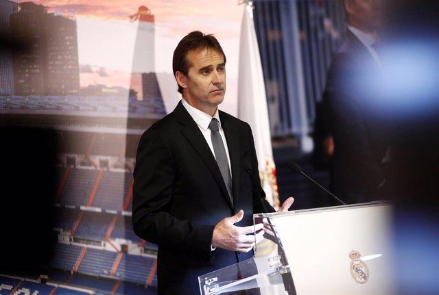 El nuevo entrenador del Real Madrid, Julen Lopetegui