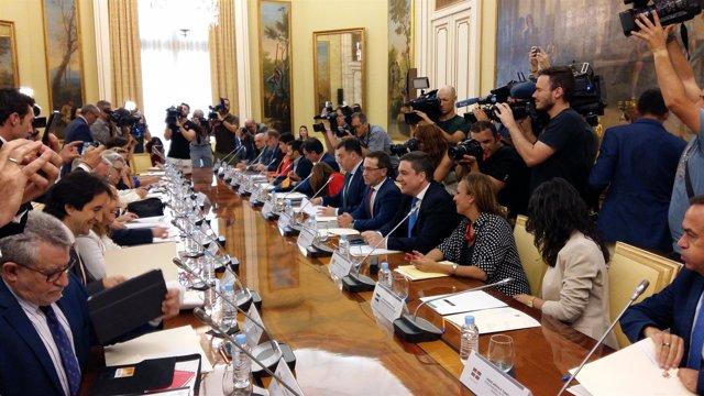 Mayte Pérez asiste a la Conferencia Sectorial de Educación