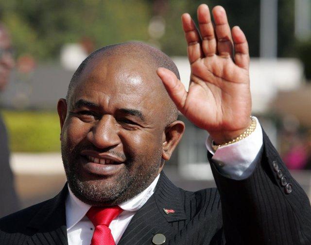 El presidente electo de Comoras, Assoumani Azali