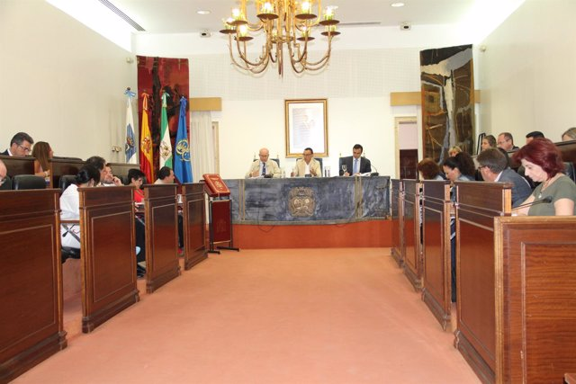 Pleno de la Diputación de Huelva.