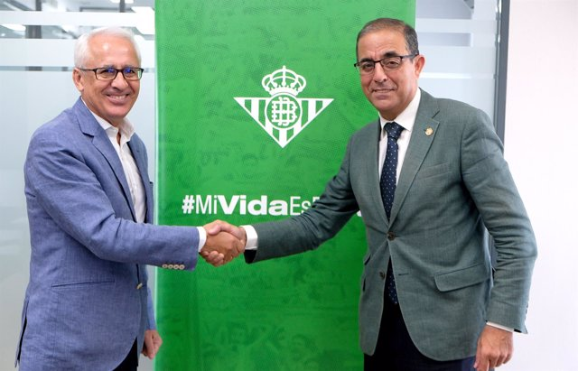 Federico Martínez junto a Miguel Ángel Castro.