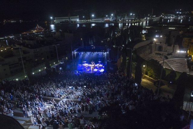 Concierto de The Human League en La Mar de Músicas