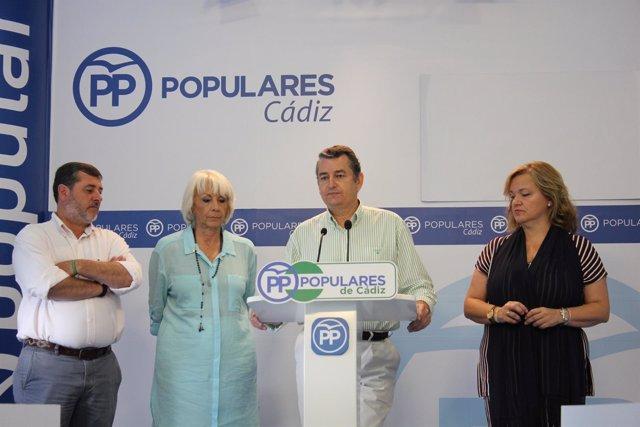 Antonio Sanz, en rueda de prensa