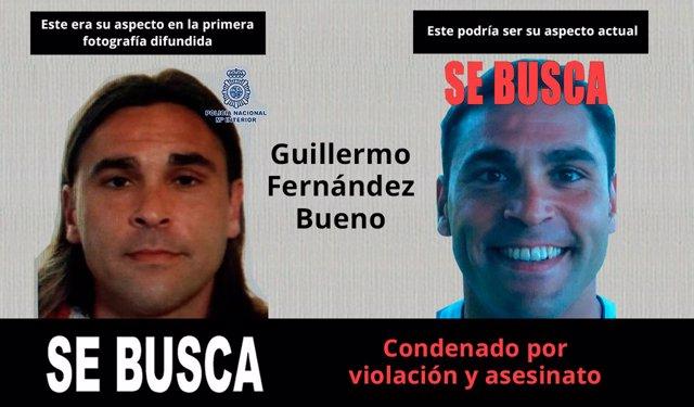 El violador y asesino Guillermo Fernández Bueno