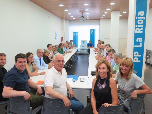 Celebración del Comité regional del PP riojano