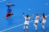 Foto: La selección femenina se mete en cuartos del Mundial de hockey hierba