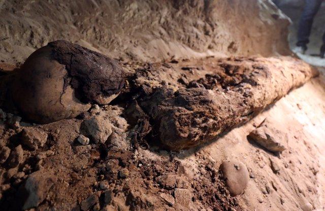 Momias descubiertas en Egipto
