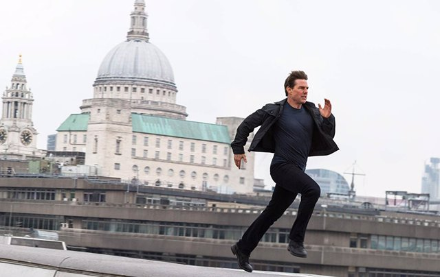 Tom Cruise en Misión Imposible: Fallout