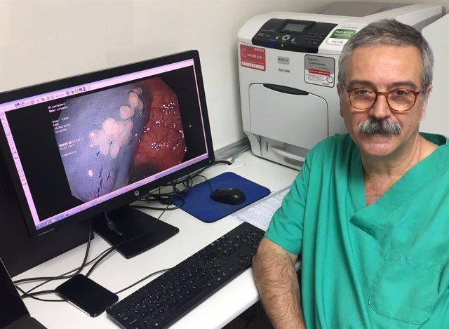 Sarbelio Rodríguez, Jefe de Servicio de Medicina del Aparato Digestivo