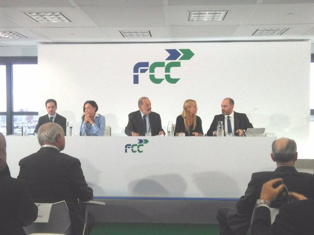Carlos Slim, presidente de FCC