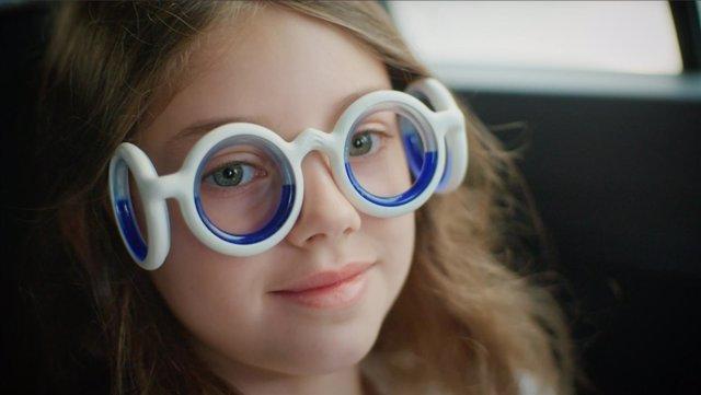 Las gafas que evitan el mareo en los viajes de Citroën
