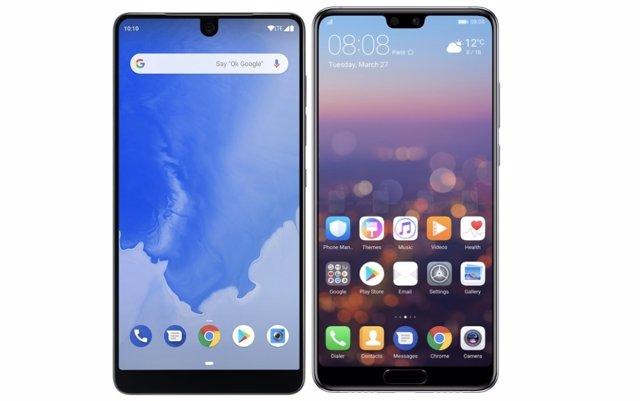 Essential Phone y Huawei P20 Pro