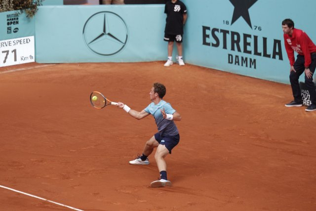 Carballes en el Mutua Madrid Open