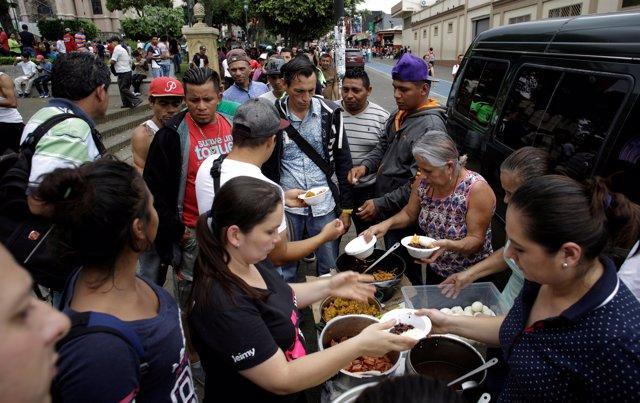 Solicitantes de asilo nicaragüenses en Costa Rica