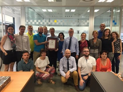 Ilunion Sociosanitario recibe el certificado Empresa Saludable de Aenor
