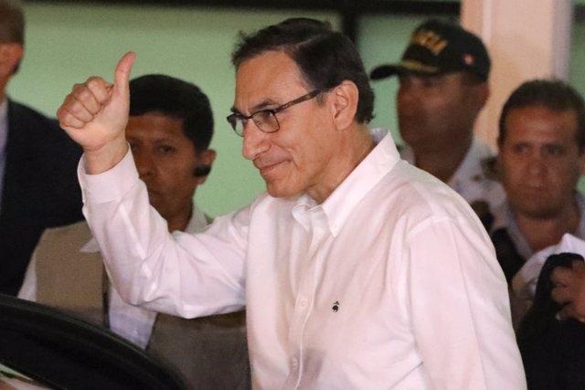 El vicepresidente de Perú, Martín Vizcarra