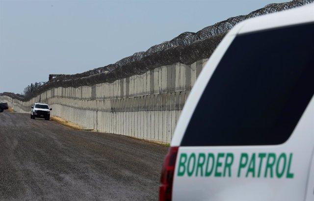Patrulla de Estados Unidos en la frontera con México