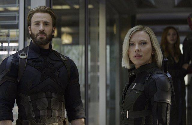 Capitán américa en Infinity War