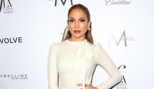 Jennifer Lopez en los Fashion Los Angeles Awards