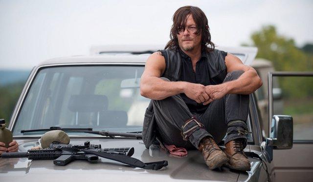 Norman Reedus en The Walking Dead