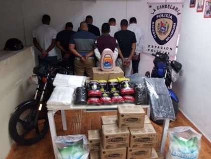 Desarticulan una banda dedicada al secuestro y robo de camiones distribuidores de alimento en Caracas