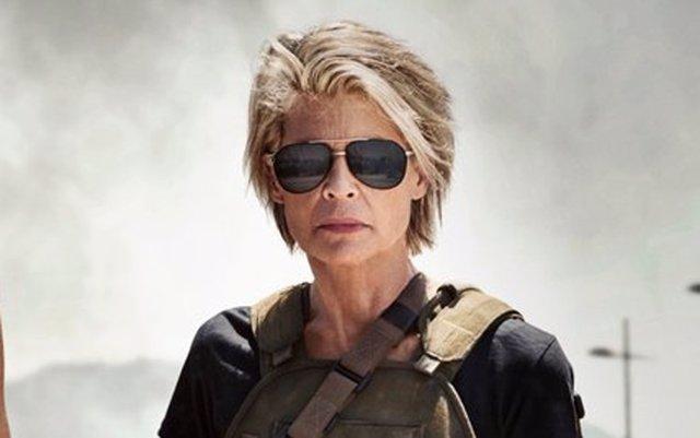Sarah Connor en la nueva Terminator