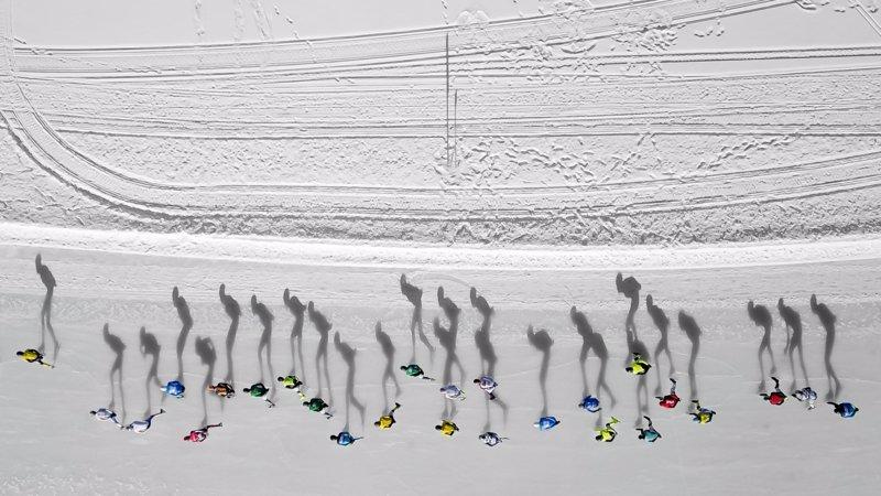 """Skating Shadows"" por Vincent Riemersma"