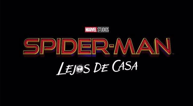 Logo oficial de Spider-Man: Lejos de casa