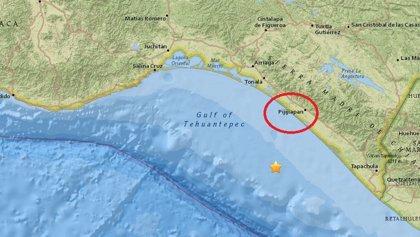Un terremoto de 5,2 grados sacude el sur de México