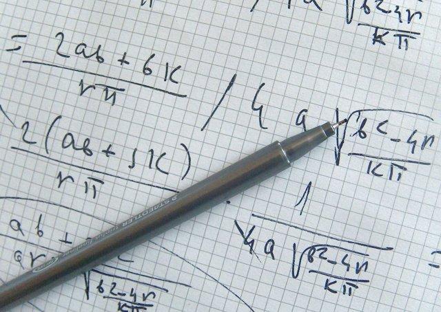Matématicas, Cuaderno