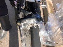 Plástico en la rueda