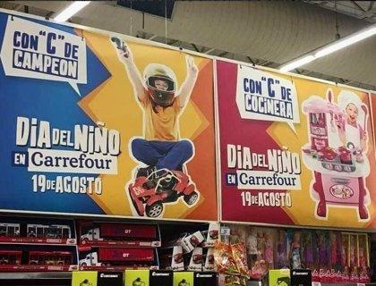 """""""Con C de Campeón y con C de Cocinera"""", la campaña de Carrefour en Argentina"""