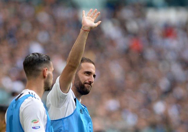 El delantero argentino Gonzalo Higuaín