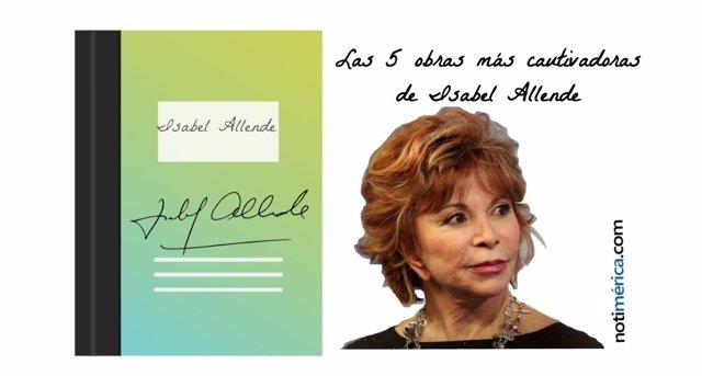 Isabel Allende y sus 5 obras más cautivadoras