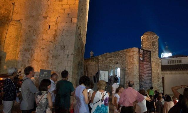 Actividades en el castillo de Peñíscola